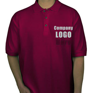 Printing of promotional t-shirts