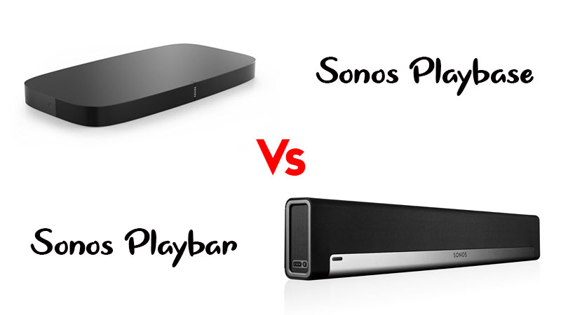 Sonos Playbase vs Playbar