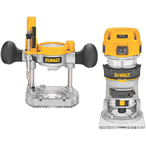 DEWALT DWP611PK 1.25 HP Max Torque Variable Speed Compact Router