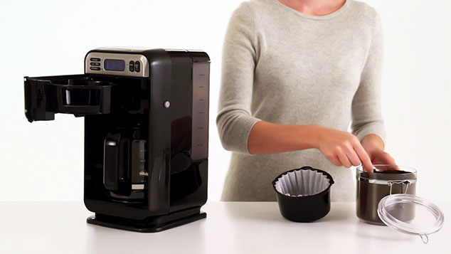 How to Make Coffee With Hamilton Beach 46201 Coffee Maker