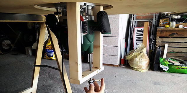 How to Make a Router Table For a Plunge Router-FI